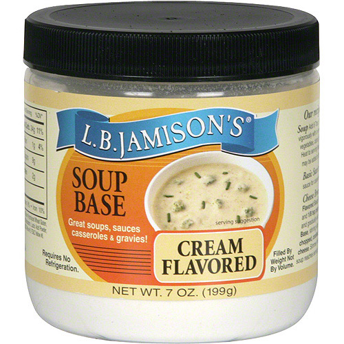 L.B. Jamison's Cream Flavored Soup Base, 7 oz (Pack of 6)
