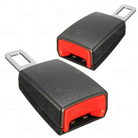 Zone Tech Car Seat Belt Extender 2 Piece 5 Rigid Type A