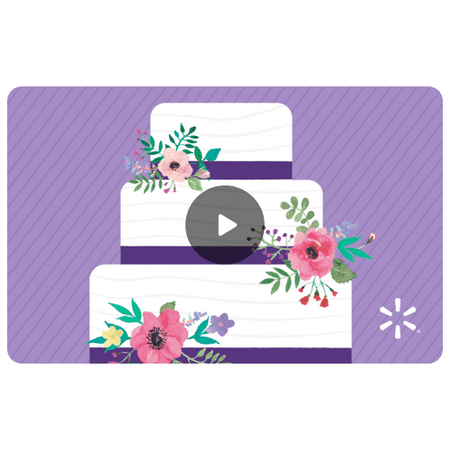 Wedding Cake Walmart eGift Card