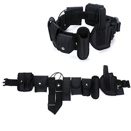 Yahill Durable Police Security Tactical Belt Combat Gear Utility Nylon Heavy Duty Belt,