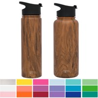 27de12bba15 Product Image Simple Modern 32oz Summit Water Bottle + Extra Lid - Vacuum  Insulated Thermos Stay Hot &