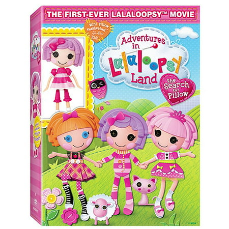 Adventures In Lalaloopsy Land Search For Pillow With