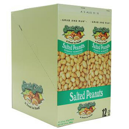 Grab & Go Salted Peanuts 2 oz./12 ct., Salty Snacks](Salty Halloween Snack Recipe)