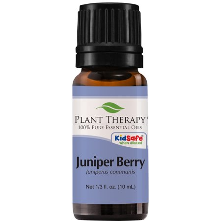 Plant Therapy Juniper Berry Essential Oil | 100% Pure, Undiluted, Natural Aromatherapy, Therapeutic Grade | 10 mL