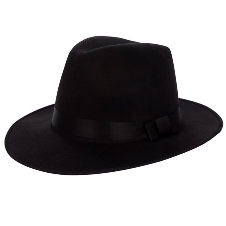 AERUSI Wide Brim Safari Fedora Hat [One Size Fits Most]