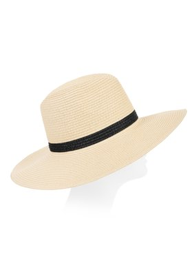 e568c492d1d Product Image Eliza May Rose Women's Two Color Continental Straw Sunhat
