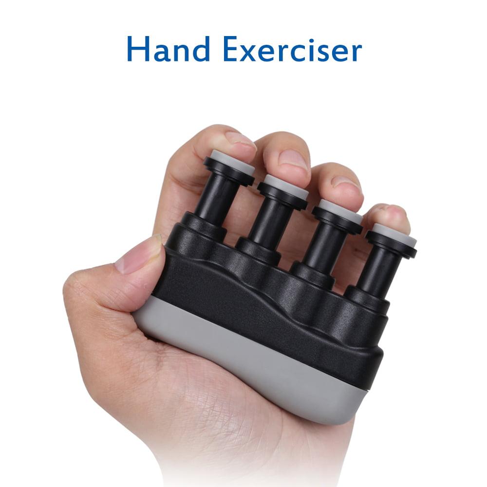 Hand Finger Trainer Exerciser Grip Strengthener Guitar Bass Training Piano T0V3