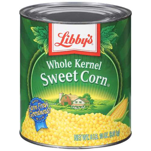 Libby's Whole Kernel Sweet Corn, 6 lb