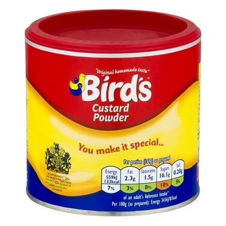 Clear Custard (Bird's Custard Powder 300g - Pack of 2 )