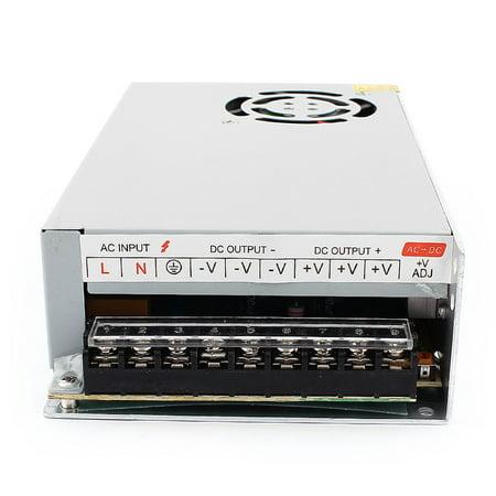 DMiotech DC12V 25A 300W 9 Terminals Power Supply Switch Converter for LED Light - image 2 de 4