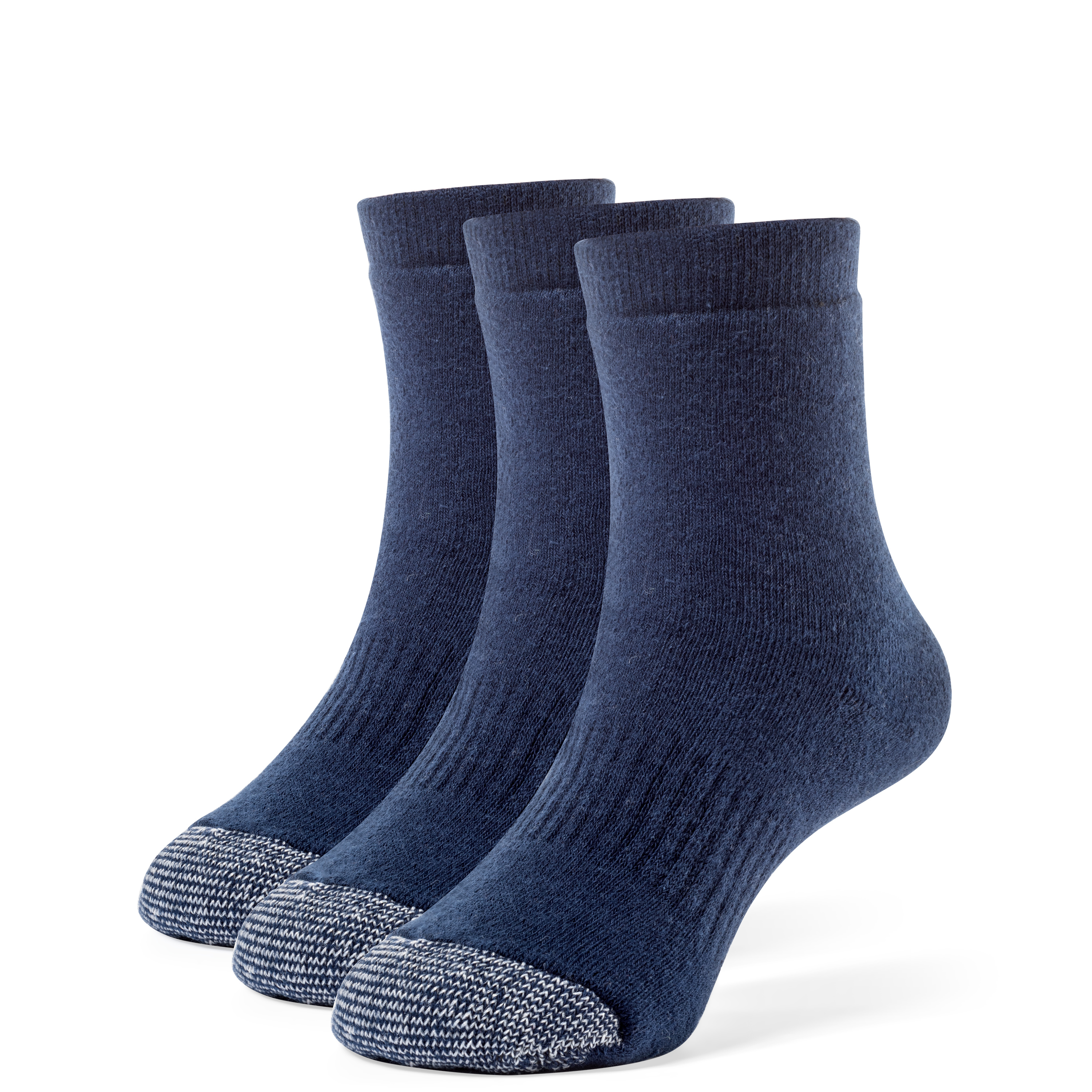Galiva Boys' Cotton Extra Soft Quarter Cushion Socks - 3 Pairs