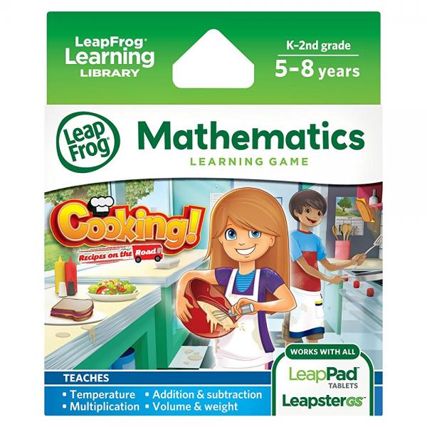 LeapFrog Cooking Recipes On The Road Learning Game (works with LeapPad Tablets and Leapster GS) by