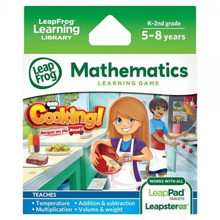 LeapFrog Cooking Recipes On The Road Learning Game (works with LeapPad Tablets and Leapster GS) (Leappad 3 Accessories)