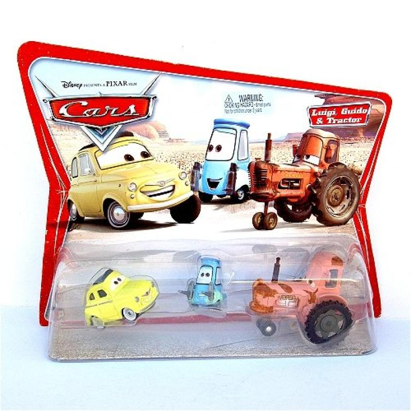 Disney Pixar Cars Tractor & 2 other Cars by