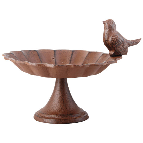 Best For Birds Pierson Cast iron Bird Feeder Birdbath