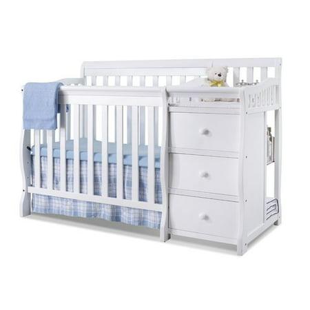 Sorelle Newport 2 In 1 Crib   Changer Combo Merlot
