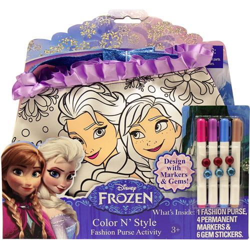 Disney Frozen Color 'n Style Purse