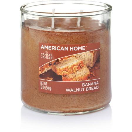 American Home by Yankee Candle Banana Walnut Bread, 12 oz Medium 2-Wick Tumbler
