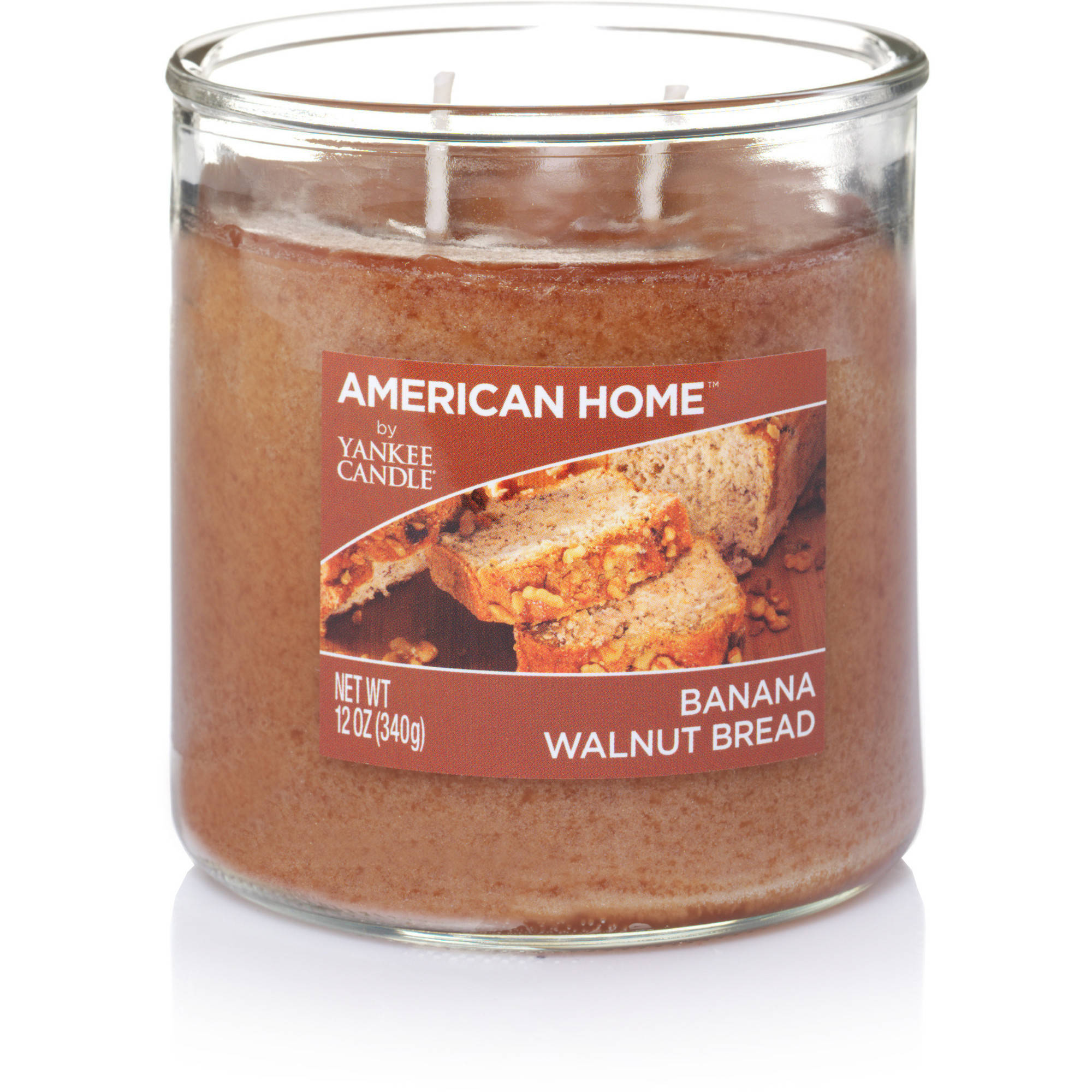 American Home by Yankee Candle Banana Walnut Bread, 12 oz Medium 2-Wick Tumbler
