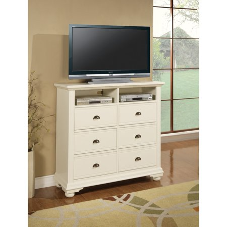 Picket House Addison White TV Stand
