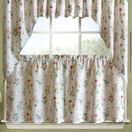 Sweet home collection english garden floral jacquard for English floral curtains