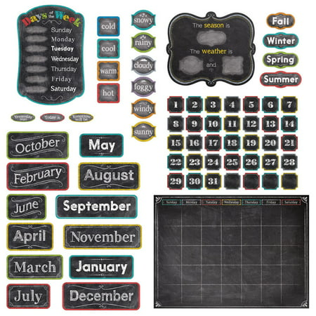 CHALK IT UP! CALENDAR SET BULLETIN BOARD (Sunday School Bulletin Board)