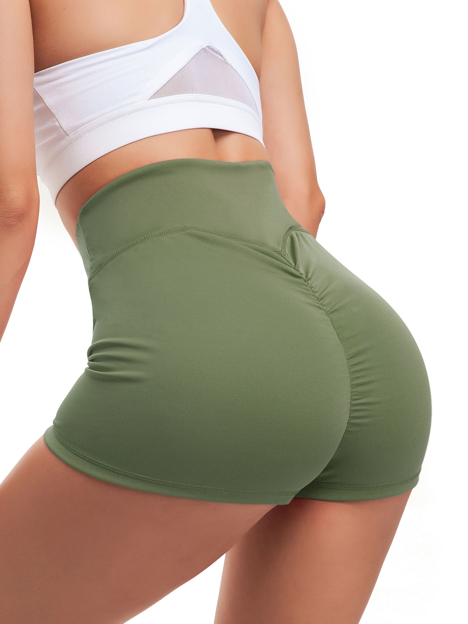 Yoga Shorts ~ Organic Cotton Shorts ~ Booty Shorts ~ Yoga Shorts