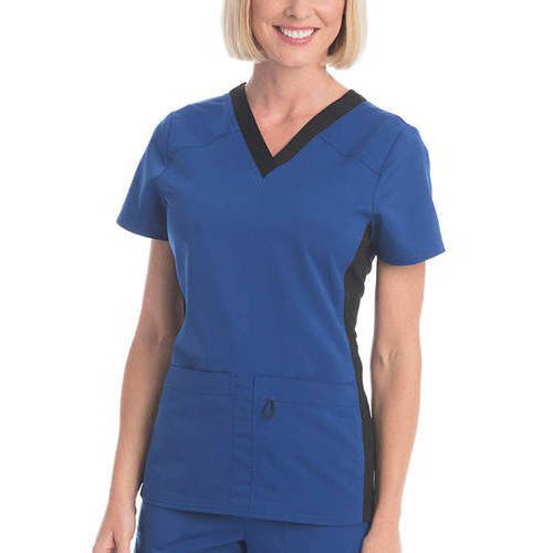 SCRUBSTAR Women's Premium Collection Flexible Rayon V-Neck Scrub Top