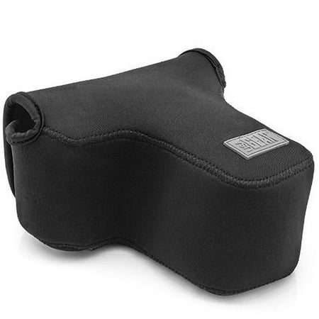 USA GEAR DuraNeoprene DSLR FlexARMOR Sleeve Case - Works With Nikon , Canon , Pentax and Many Other DSLR Cameras (Small Dslr Camera Case)