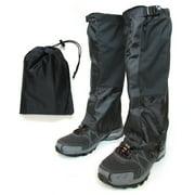 Hiking Gaiter - Waterproof Leg Gaiters for Women and Men - Nylon Lightweight Hiking Shoe Gaiters with Storage Bag