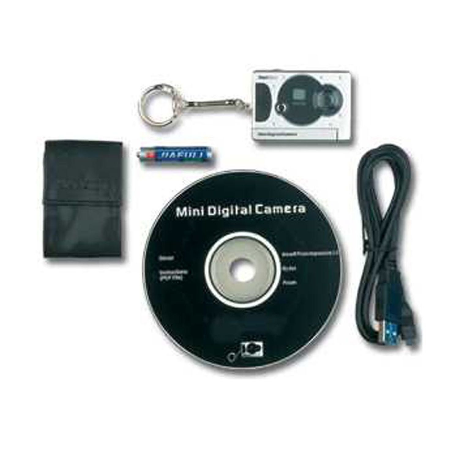 Smallest Spy Digital Camera with Web Cam - Video Cam Build-In