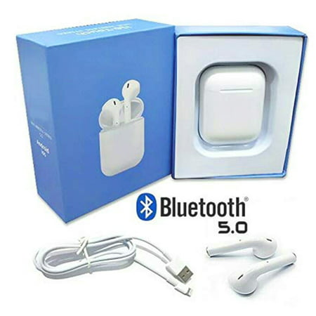 Bluetooth Headphones, Bluetooth 5.0 Earphones Wireless Headset w/ Charge Case Touch Control Earbuds for Android IOS - image 1 of 10