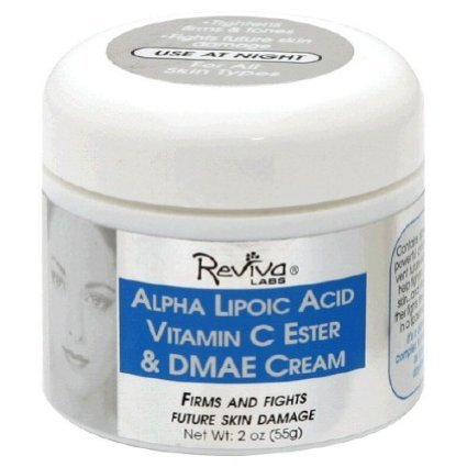 Reviva Alpha Lipoic Acid Vitamin C Ester And Dmae Skin Cream - 2 Oz