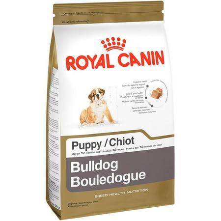 Royal Canin Bulldog Puppy Dry Dog Food, 30 lb
