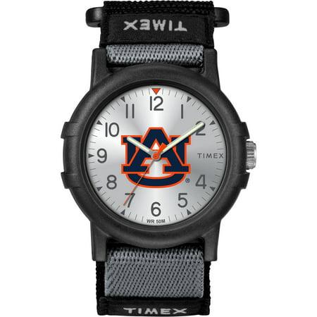 Auburn University Tigers Youth FastWrap Recruit Watch Auburn Tigers Black Leather