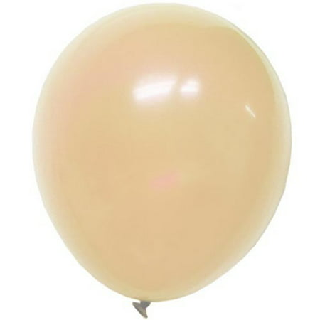exquisite 10 ct 12 inch ivory latex balloons 10 pack cream