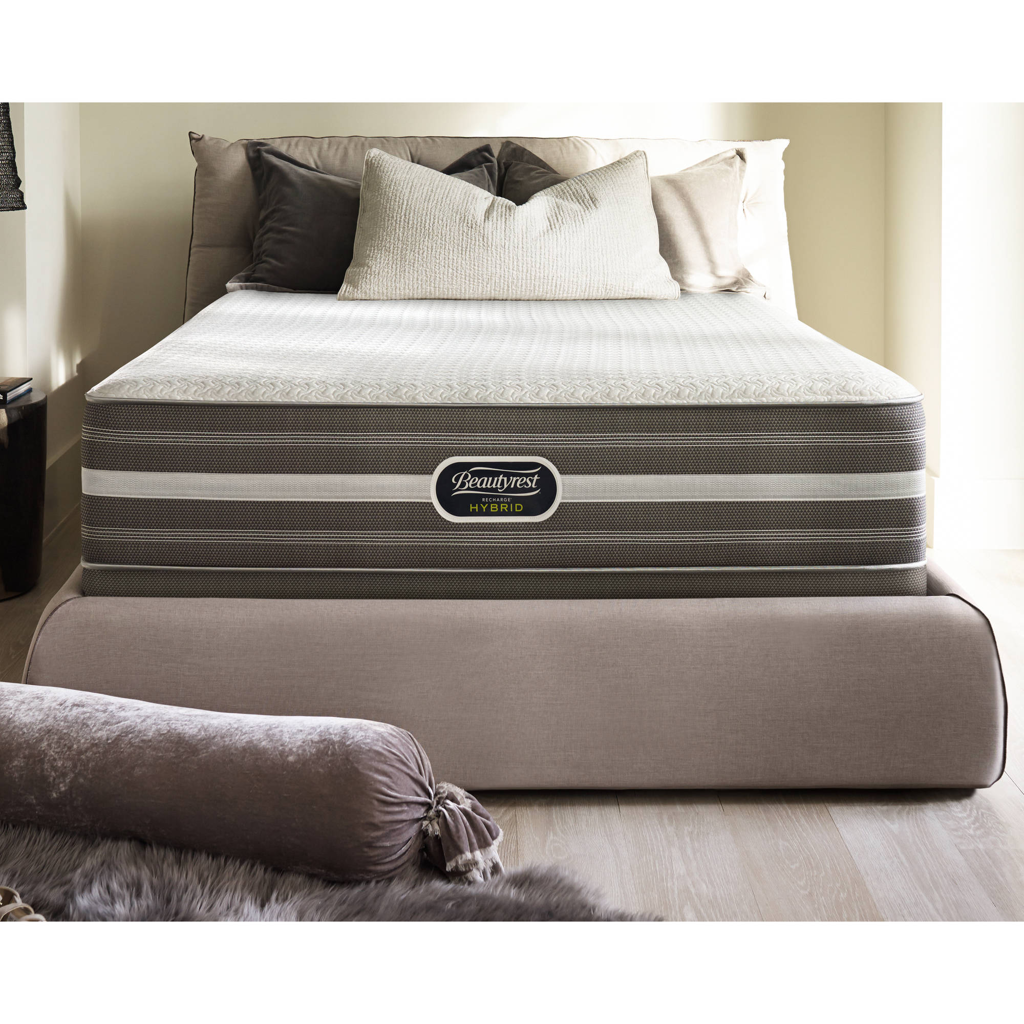 "Beautyrest Recharge Hybrid Wyloway Ultimate 14"" Plush Mattress, Multiple Sizes"