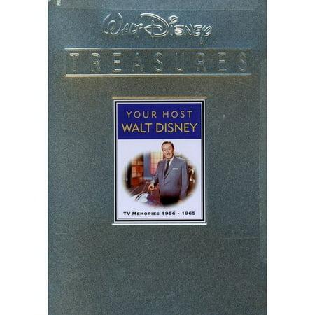 Your Host, Walt Disney: TV Memories, 1956-1965 (Walt Disney Treasures)
