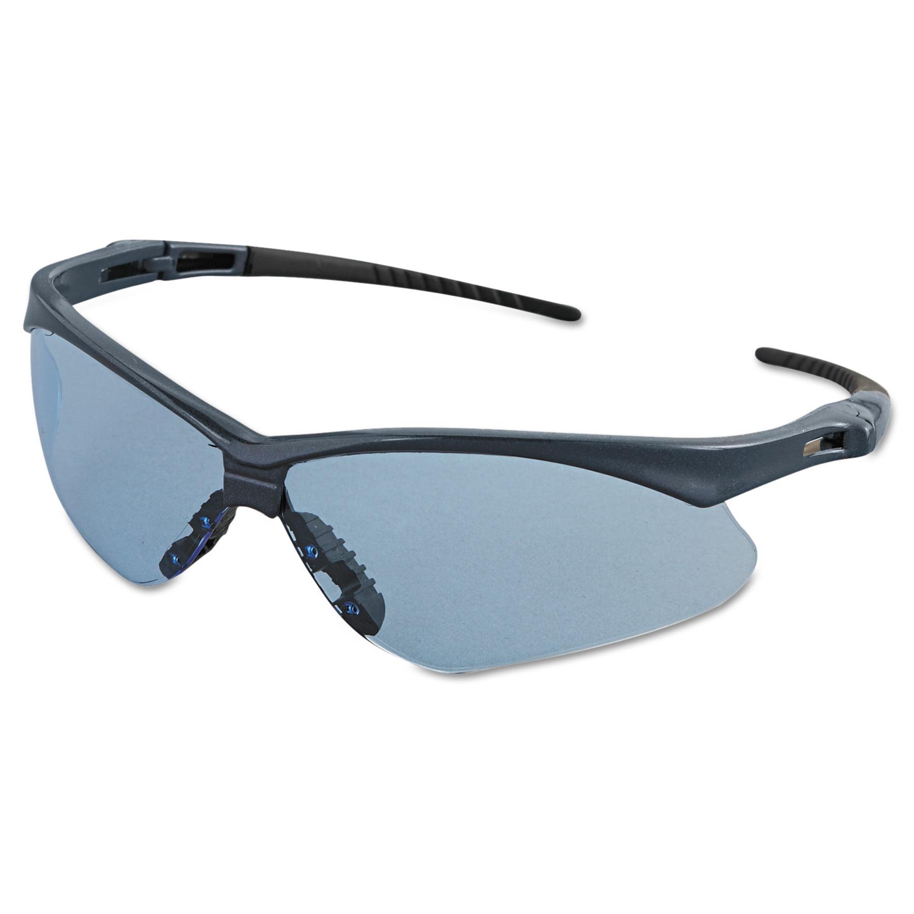 Jackson Safety* Nemesis Safety Glasses, Blue Frame, Light Blue Lens by Kimberly Clark