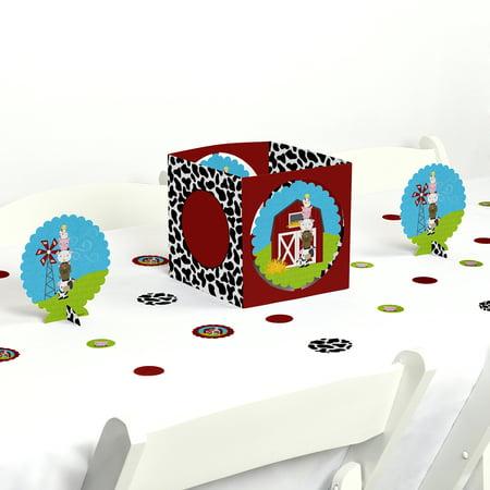 Farm Animals - Party Centerpiece & Table Decoration Kit - Farm Centerpieces