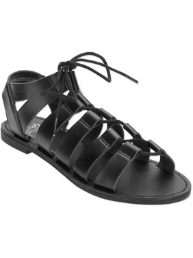 d47bd3a2932 Womens Gladiator   Caged Sandals - Walmart.com