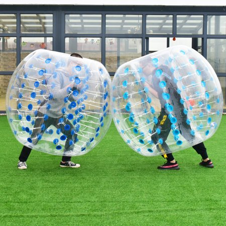 1 PC 1.5M Inflatable Bumper Ball Body Zorbing Ball Zorb Bubble Soccer/Football - image 2 de 8