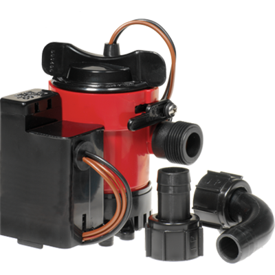 Johnson Pump #05703-00 Cartridge Combo Bilge Pump 750GPH,
