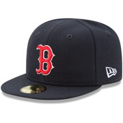 Boston Red Sox New Era Infant Authentic Collection On-Field My First 59FIFTY Fitted Hat - Navy