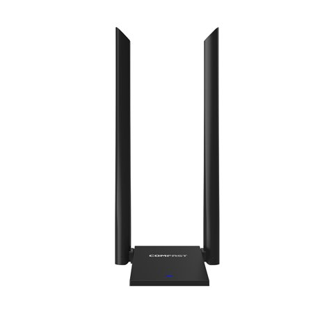 COMFAST CF-WU782AC Wireless Repeater Dual-Antenna High Power WIFI Signal Extender 1300Mbps Wireless Routing AP Signal Routing Box
