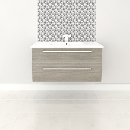 Cutler kitchen amp bath silhouette 36 single bathroom floating vanity