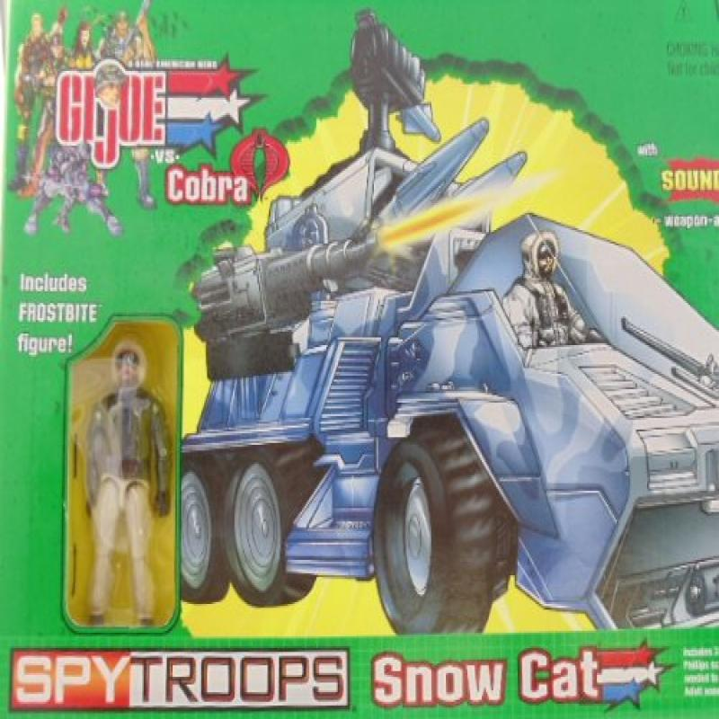 G.I. Joe Joe Vs Cobra Spy Troops Snow Cat with Frostbite Action Figure by