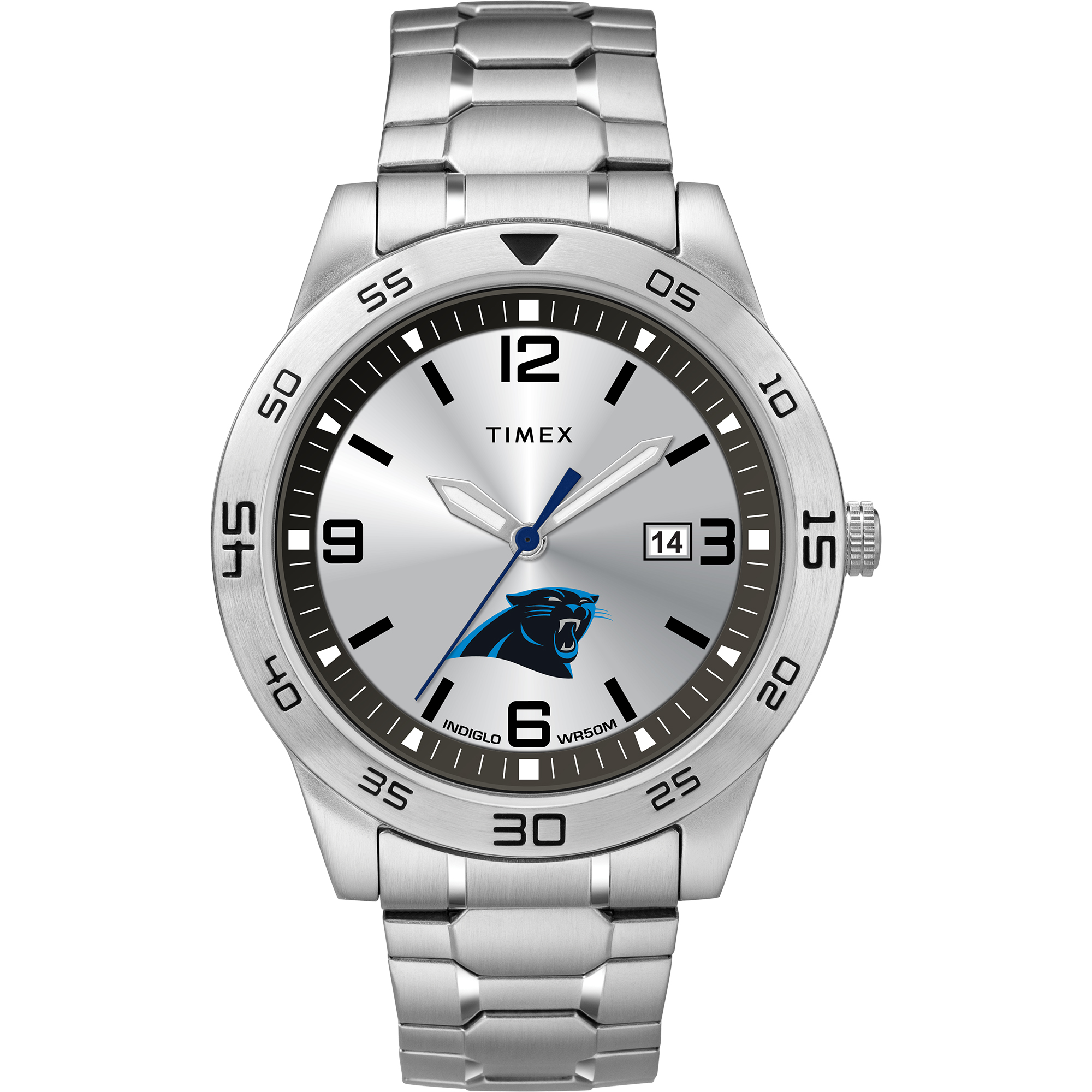 Timex - NFL Tribute Collection Citation Men's Watch, Carolina Panthers