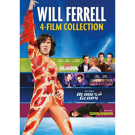 4 Film Collection: Will Ferrell (DVD) (Will Ferrell Cheerleader)