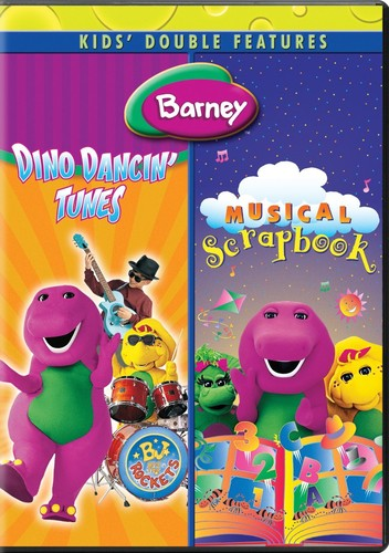 Barney: Dino Dancin Tunes   Musical Scrapbook by Universal